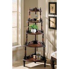 56 Corner Unit Bookcase by Design Toscano