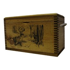 Ammo/Accessory Case With Rope Handles WithWhitetail Deer Print