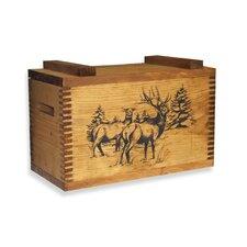 Standard Storage Box With Elk Print