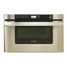 """Easy Open 24"""" 1.2 cu.ft. Microwave Drawer"""