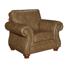 Tahoe Leather Club Chair by Broyhill®