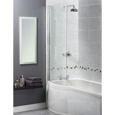 Shine 150cm x 85cm Hinged Bath Screen