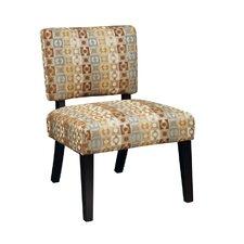 Jasmine Fabric Slipper Chair by Ave Six