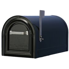 Locking Post Mounted Mailbox