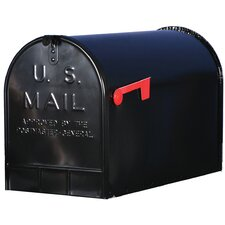 "12 "" x 16"" Steel Post Mounted Mailbox"