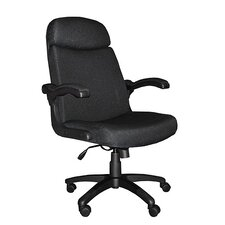 Comfort High-Back Leather Executive Chair by Mayline Group