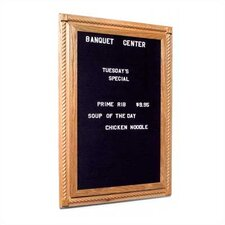 Executive Magnetic Reversible Letter Board