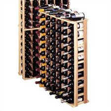 Country Pine 66 Bottle Floor Wine Rack