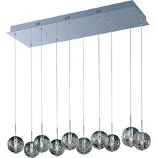 Orb 10-Light Kitchen Island Pendant