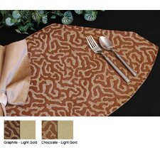 Illusion Table Linens Reversible Wedge Placemat (Set of 2)