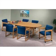 Contemporary Oval Conference Table
