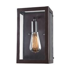 Parameters-Bronze 1-Light Wall Sconce