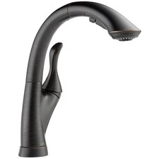 Linden Single Handle Pull Out Standard Kitchen Faucet