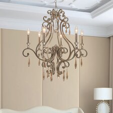 Shelby 6-Light Candle-Style Chandelier