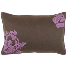 Fringed in Floral Lumbar Pillow