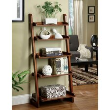 "Brownville 55"" Leaning Bookcase"
