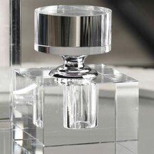 Amari Cube Glass Decorative Bottle