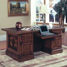 Barcelona Double Pedestal Executive Desk