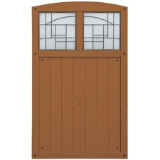 "Baycrest 42"" x 68"" Gate with Faux Glass Insert"