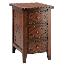 Wood Trends Southwest Inspired 3 Drawer Chairside Chest by Stein World