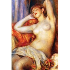 The Sleeping by Pierre - August Renoir Painting Print on Wrapped Canvas
