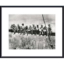 Lunch Atop a Skyscraper by Charles Ebbets Framed Photographic Print by Printfinders
