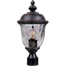 Carriage House DC Outdoor 1-Light Lantern Head