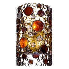 Fascination 3-Light Outdoor Flush Mount