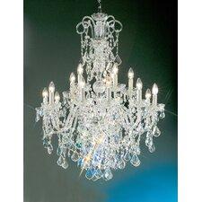 Bohemia 15-Light Crystal Chandelier
