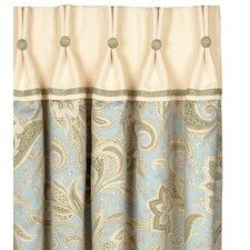 Southport Paisley Semi-Sheer Pinch Pleat Single Curtain Panel
