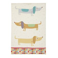 Hot Dogs Tea Towel