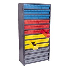 Closed Shelving Storage System with Euro Drawers