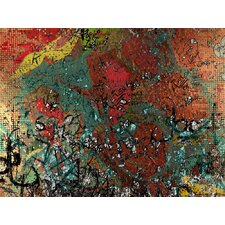 Abstract Alaphabet Soup by Jordan Carlyle Graphic Art