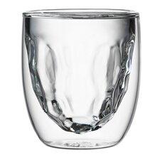 2-tlg. Elemente von kristallisiertem Glas