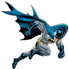 Popular Characters Batman Bold Justice Giant Wall Decal