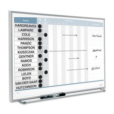 Matrix Magnetic Enclosed Cabinet Whiteboard, 1' H x 2' W