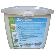 Sure Close 1.9 Gallon Touch Top Trash Can