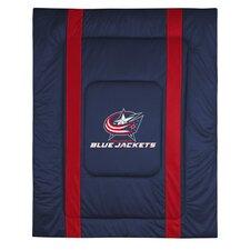 NHL Columbus Blue Jackets Sidelines Comforter