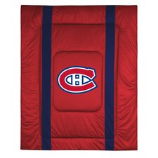 NHL Montreal Canadiens Sidelines Comforter