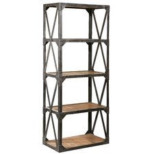 Bleecker Narrow 79 Accent Shelves Bookcase by Furniture Classics LTD