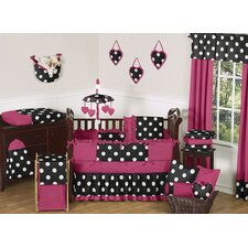 Hot Dot 9 Piece Crib Bedding Set by Sweet Jojo Designs