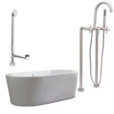 Ventura Soaking Bathtub by Giagni