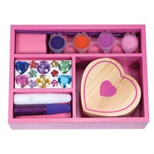 DYO Heart Box Arts & Crafts Kit by Melissa & Doug