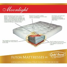 "9"" Cotton and Foam Futon Mattress"