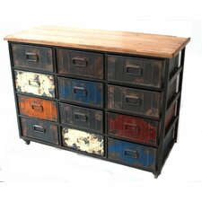 André Paintbox Large 12 Drawer Chest by 17 Stories