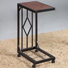 Mobile Snack End Table
