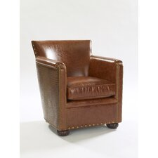 Tahoe Leather Club Chair by Leathercraft