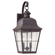 Colonial Styling 2-Light Outdoor Wall lantern