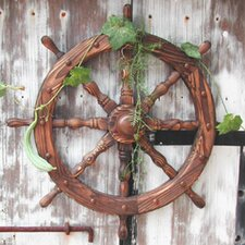 Ships Wheel Wall Decor