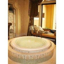 Designer Redondo 69 x 69 Soaking Bathtub by Hydro Systems